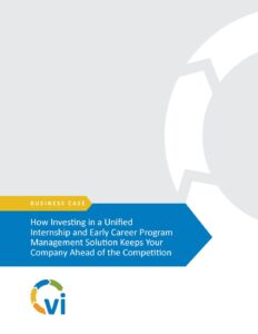 Business Case - Internship and Early Career - Program Management