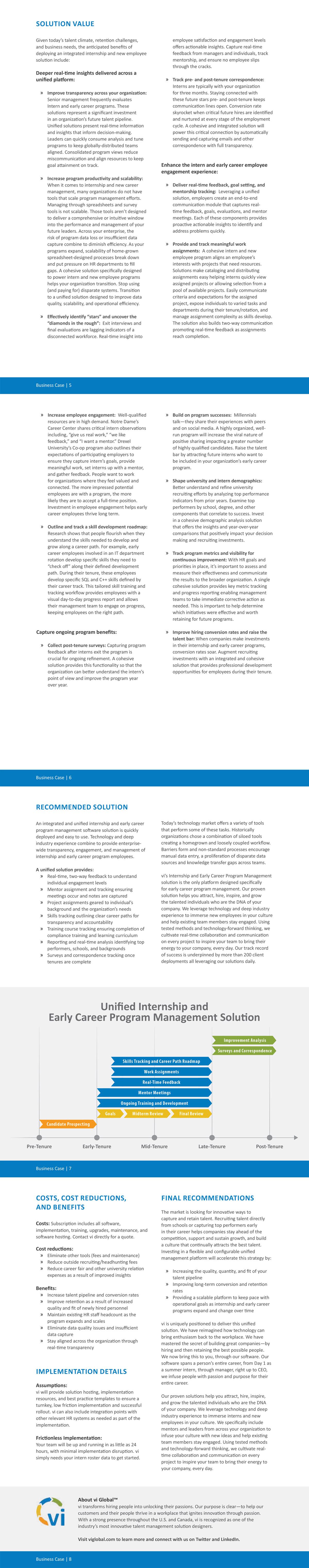 Resource) Business Case - Internship Program Management